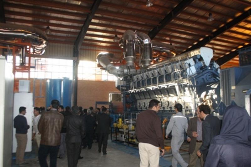 با تسهیلات بانک توسعه تعاون نیروگاه حدیث مهر فارس افتتاح شد
