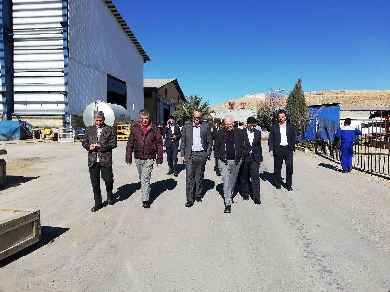 بازدید عضو هیئتمدیره بانک توسعه تعاون از طرحهای اقتصادی و توسعهای استان فارس