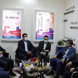 بازدید محمد شیخ حسینی از نمایشگاه بین المللی ایران فارما