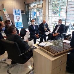 بازدید معاون بانک توسعه تعاون از شعب استانهای مازندران و گیلان